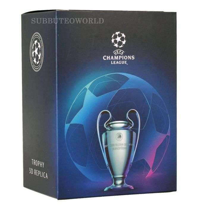 1016 the uefa champions league trophy 100mm high official licensed replica trophy 1016 the uefa champions league trophy 100mm high official licensed replica trophy