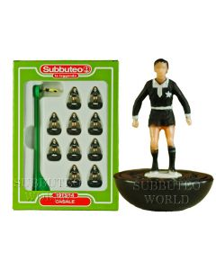 CASALE. Retro Subbuteo Team. Modelled on the LW Figure & Bases From the 1980's.