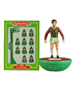 FLUMINENSE. Retro Subbuteo Team. Modelled on the LW Figure & Bases From the 1980's.