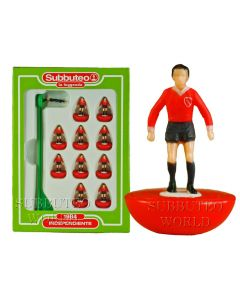 INDEPENDIENTE. Retro Subbuteo Team. Modelled on the LW Figure & Bases From the 1980's.