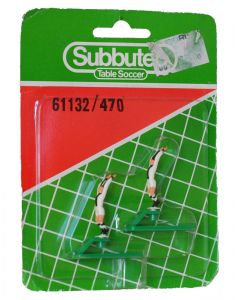 61132. REF 470 UDINESE. 2 Very Rare Original Early 80's Hand Painted Throwing Figures. Unopened Numbered Blister Pack.