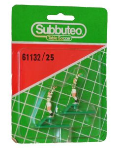 61132. REF 025 CELTIC. 2 Very Rare Original Early 80's Hand Painted Throwing Figures. Unopened Numbered Blister Pack.