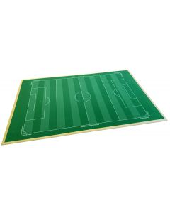 001. THE PEGASUS RUBBER BACKED HALF SIZE STRIPE CUT ASTROTURF. IDEAL 5-A-SIDE OR 7-A-SIDE PITCH. Mounted On To 9mm MDF Board.