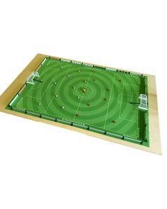 001. THE PEGASUS RUBBER BACKED FULL SIZE CIRCULAR CUT ASTROTURF, WITH CHEQUERED CENTRE CIRCLE. New Lighter Green More Realistic Astroturf.