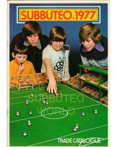 1977 SUBBUTEO TRADE CATALOGUE