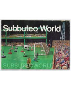 1978 SUBBUTEO CATALOGUE. Has Been Written Inside. Tear To Front Cover.