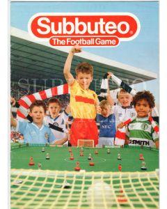 1988 SUBBUTEO CATALOGUE. A4 SIZE. Excellent Condition.