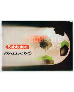 1990 SUBBUTEO CATALOGUE