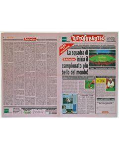 1998 TUTTO SUBBUTEO. HASBRO ITALY ORIGINAL 8 PAGE ITALIAN NEWSPAPER. SECOND EDITION.