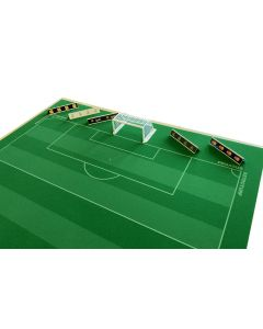 62200 - SET C. PACK OF 5 GROUND ADVERTISING BOARDS.