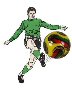 PEGASUS 22mm 2008 YELLOW, RED & GREEN TOURNAMENT BALL. ONE BALL.
