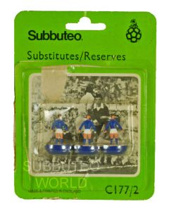 C177/2. SUBSTITUTES/RESERVES. REFERENCE 2. Opened Blister Pack From Around 1980.