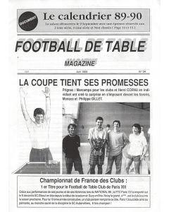 1989 FRENCH 23 PAGE SUBBUTEO A4 SIZE MAGAZINE.