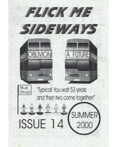 2000 ISSUE 14. FLICK ME SIDEWAYS A4 SIZE SUBBUTEO COLLECTORS CLUB NEWSLETTER.