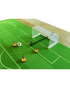 GT2. PEGASUS METAL CHAMPIONSHIP GOALS. With White Frames & New Improved White Netting.