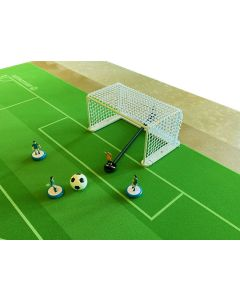 GT1. PEGASUS METAL TOURNAMENT GOALS. With White Frames & New Improved White Netting.