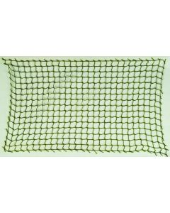 4E. TWO PIECES OF DARK GREEN NETTING