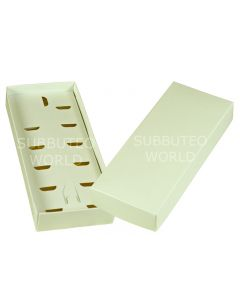 002A. PLAIN WHITE TEAM HOLDER BOXES. SPECIAL OFFER WHEN PURCHASING A MOQ 10.