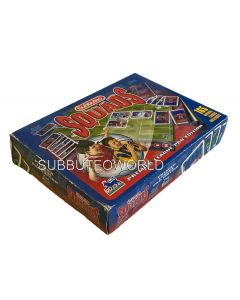 12222. SUBBUTEO SQUADS. 1996 PREMIER LEAGUE PRO EDITION. Comes With 165 Cards, A Board, A 2 Halves Of A Mitre Ball & Rules.