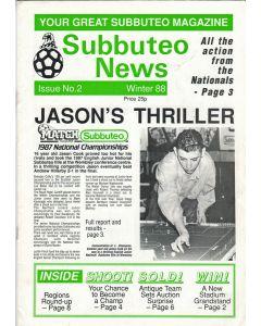 SUBBUTEO NEWS WINTER 1988