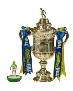1006. THE SCOTTISH FA CUP. 100mm High With Display Box. Official Licensed Replica Trophy.