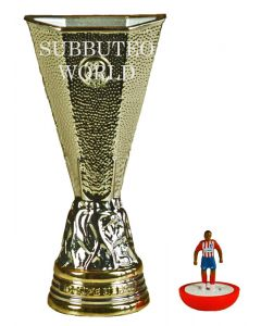 1013. THE UEFA EUROPA LEAGUE TROPHY. 100mm High With Display Box. Official Licensed Replica Trophy