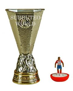 1012. THE UEFA EUROPA LEAGUE TROPHY. 80mm High. Official Licensed Replica Trophy.