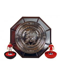 1027. THE FA COMMUNITY SHIELD. 70mm in Diameter Includes a Display Box. Official Licensed Replica Trophy.