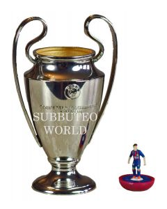 1016. THE UEFA CHAMPIONS LEAGUE TROPHY. 100mm High. Official Licensed Replica Trophy.