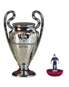 1015. THE UEFA CHAMPIONS LEAGUE TROPHY. 80mm High. Official Licensed Replica Trophy.