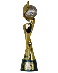 1030. THE 2019 WOMENS WORLD CUP TROPHY. 150mm High With Display Box. Official Licensed Miniature Replica Trophy.