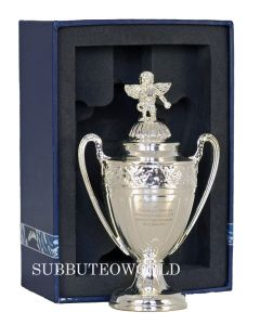1032. THE COUPE DE FRANCE TROPHY. 100mm High With Display Box. Official Licensed Miniature Replica Trophy.