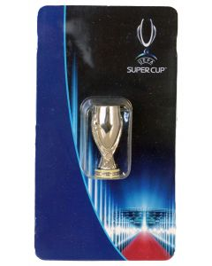 1024. THE UEFA SUPER CUP. Stands 45mm High & is The Official Licensed Miniature Replica Trophy.
