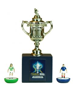 1005. THE SCOTTISH FA CUP. 70mm High With Display Box. Official Licensed Replica Trophy.