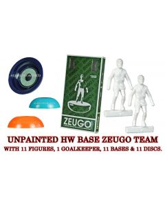 UNPAINTED ZEUGO TEAM WITH ROUNDED HW BASES