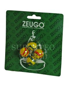 10056. ZEUGO 18mm TOURNAMENT BALLS. Blister Pack Of 4 Balls.
