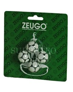10124. ZEUGO 22mm CHAMPIONSHIP BALLS. Blister Pack Of 4 Balls.
