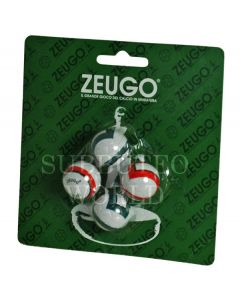 10186. ZEUGO 22mm EUROPEAN BALLS. Blister Pack Of 4 Balls.
