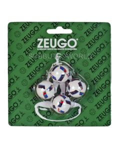 10216. ZEUGO 22mm EURO 2016 BALLS. Blister Pack Of 4 Balls.