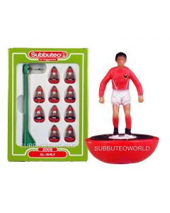 AL-AHLY. Retro Subbuteo Team. Modelled on the LW Figure & Bases From the 1980's.