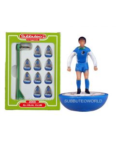 AL-HILAL CLUB. Retro Subbuteo Team. Modelled on the LW Figure & Bases From the 1980's.