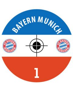 BAYERN MUNICH DECALS (24 base stickers with badge, name & numbers)