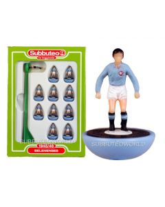 BELENENSES. Retro Subbuteo Team. Modelled on the LW Figure & Bases From the 1980's.