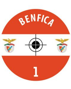 BENFICA DECALS (24 base stickers with badge, name & numbers)