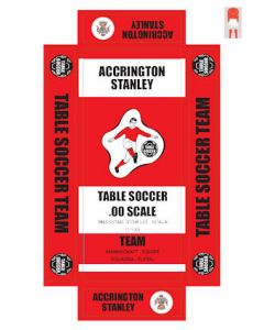 ACCRINGTON STANLEY. Self adhesive team box labels.