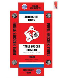 ALDERSHOT. self adhesive team box labels.