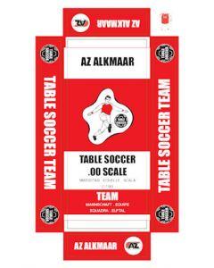 AZ. ALKMAAR. self adhesive team box labels.
