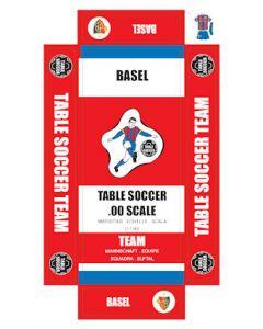 BASEL. self adhesive team box labels.