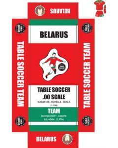BELARUS. self adhesive team box labels.