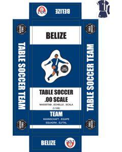 BELIZE. self adhesive team box labels.
